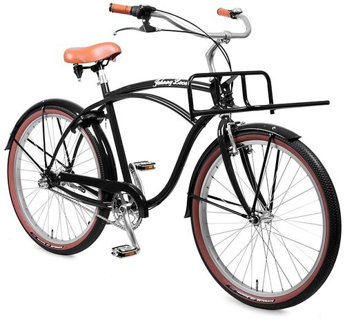 Johnny Loco 3-Gang Beach Cruiser Dutch Delight Herren schwarz