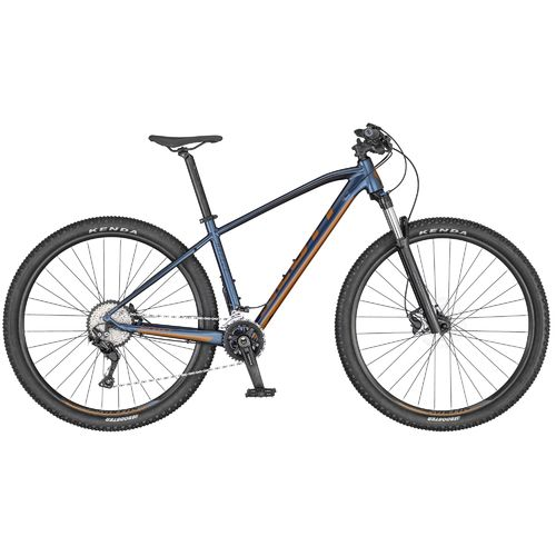 "Scott 29"" Aspect 920 2020 blau 20 Gang Shimano Deore, Remote Lock-Out Gabel, hydr. disc"