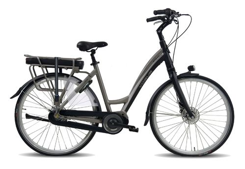 36V/13AH Vogue Royal matt black grey 8 Gang Mittelmotor Pedelec (E-Bike)