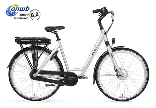 E-Volution 12.2 mint silver 8 Gang Shimano Nexus Pedelec (E-Bike) 470Wh