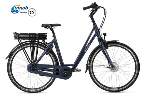 E-Volution 5.0 8 Gang Shimano Nexus Pedelec (E-Bike) 470Wh matt blue