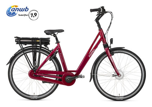 E-Volution 5.0 8 Gang Shimano Nexus Pedelec (E-Bike) 470Wh red