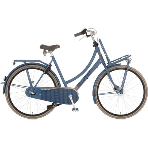 Cortina U4 Transport 3 Gang Shimano Nexus Rücktritt, dull blue