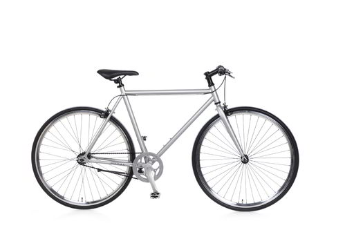 Fixie silber, Fixed Gear