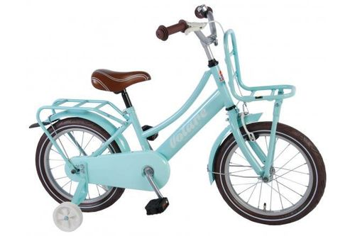 "Volare 16"" Mädchen-Hollandrad Omafiets Excellent mint-blau"
