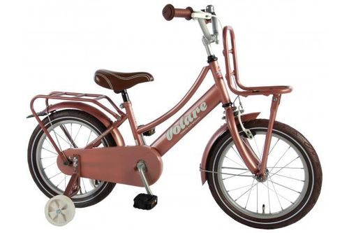 "Volare 16"" Mädchen-Hollandrad Omafiets Excellent alt-rosa"