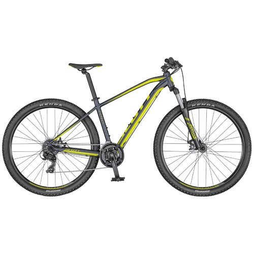 "Scott 27,5"" Aspect 770 dark grey-yellow 2020 21 Gang Shimano, Scheibenbremse"