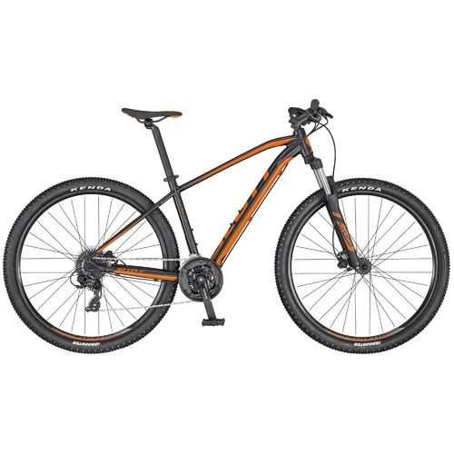 "Scott 27,5"" Aspect 760 black-orange 2020 24 Gang Shimano, hydr. Scheibenbremse"