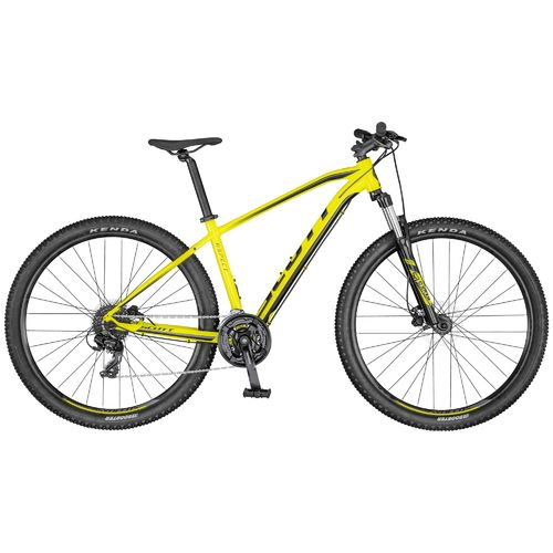 "Scott 27,5"" Aspect 760 yellow black 2020 21 Gang Shimano, hydr. Scheibenbremse"