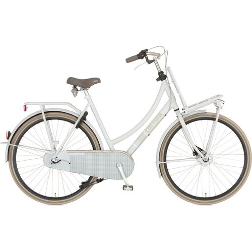 Cortina U4 Transport 3 Gang Shimano Nexus Rücktritt, light grey