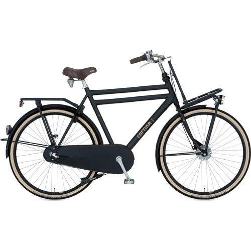 Cortina U4 Herren Transport 3 Gang Shimano Nexus Rücktritt, jet black matt