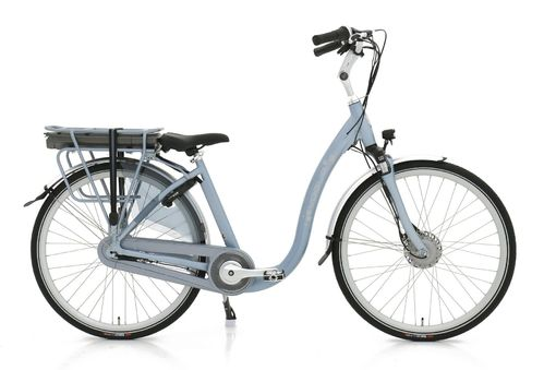36V/13AH Vogue Comfort Tiefeinsteiger silk blue matt 7 Gang Pedelec (E-Bike)