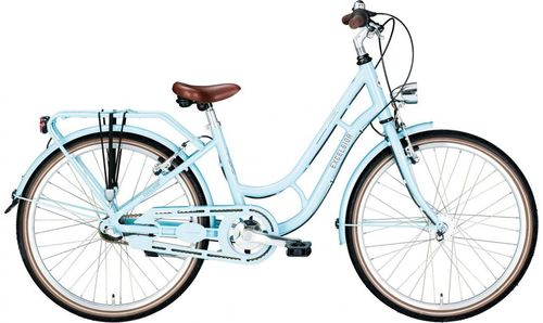 "24"" Excelsior Swan Retro 7 Gang Shimano Nexus Nabendynamo light blue"